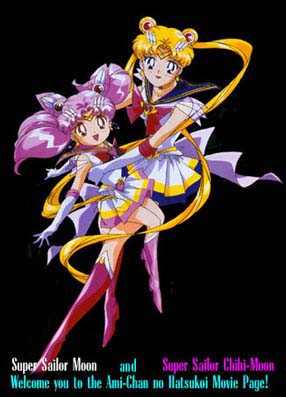 Sailor Moon and Sailor Chibi-Moon welcome you!